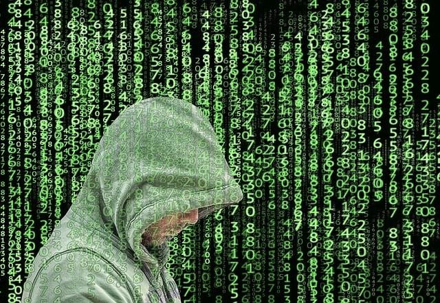 eCommerce Security Hacker In Hoodie