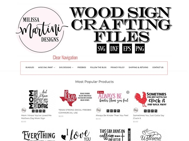 eCommerce Website Design Signs