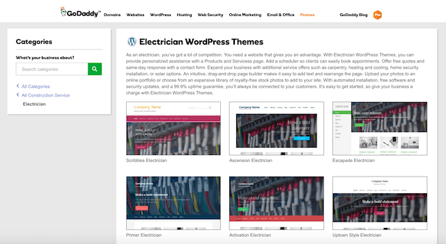 Electrical Contractors WordPress Theme