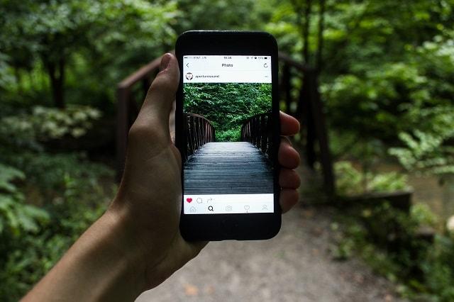 Caccia al tesoro dell'utente Instagram