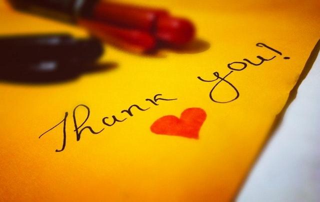 Employee Appreciation Thank You