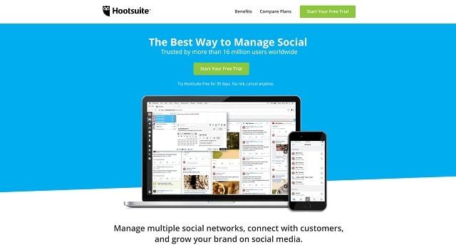 Employee Social Media Hootsuite