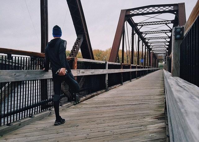 Man Exercising Illustrating Avoiding Entrepreneur Burnout