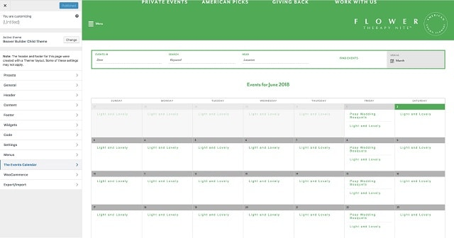 Event Booking With WordPress Calendar