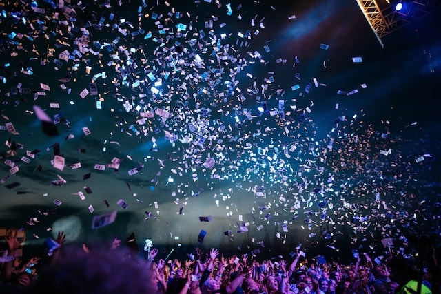 Event Planning Careers Confetti