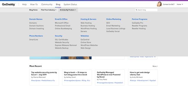 Example Categories GoDaddy Blog