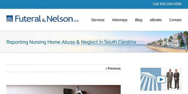 Facebook Ads For Lawyers Futeral And Nelson Example