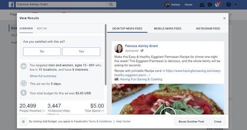 Facebook Page Insights Eggplant Video Results Expanded