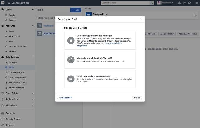 Facebook Retargeting Setup