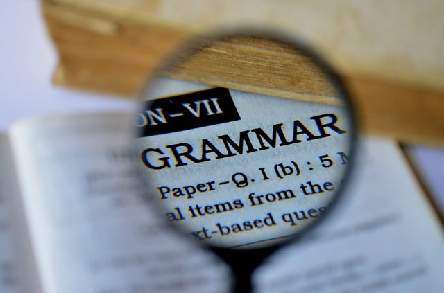 Fake Email Grammar