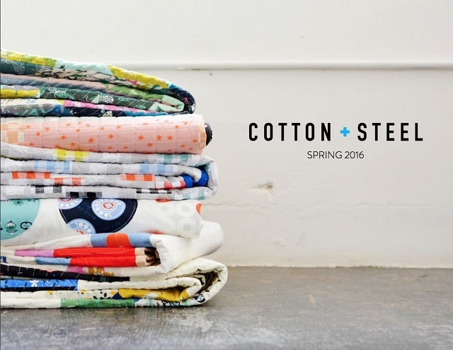 Fashion Lookbook Cotton And Steel Cover Photo