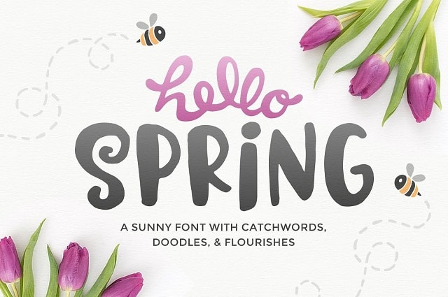 Fashion Lookbook Hello Spring On Creative Market