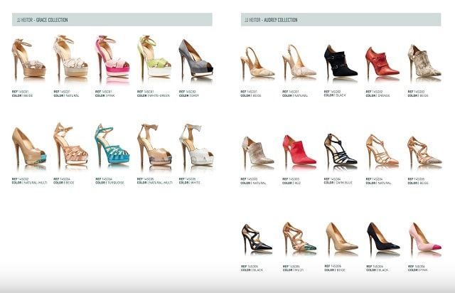 Fashion Lookbook JJ Heitor Shoes In Various Styles