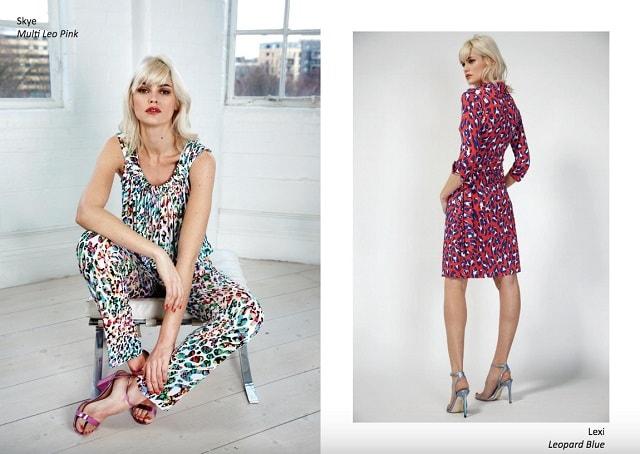 Fashion Lookbook ONJENU Leopard Print Two Ways