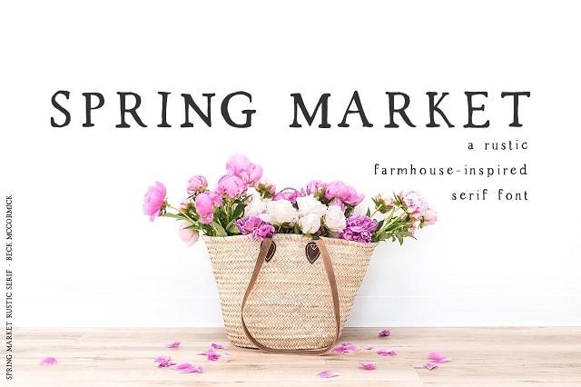 Fashion Lookbook Spring Market On Creative Market