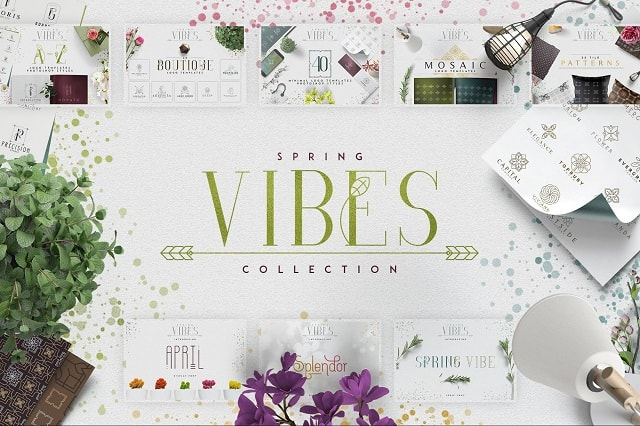 Fashion Lookbook Spring Vibes Collection On Creative Market