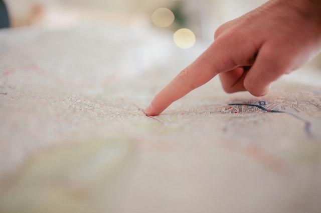 First Overseas Customer Map