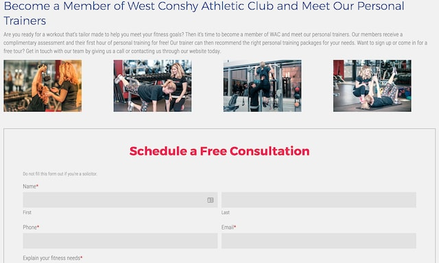 Fitness Marketing Ideas Consultation