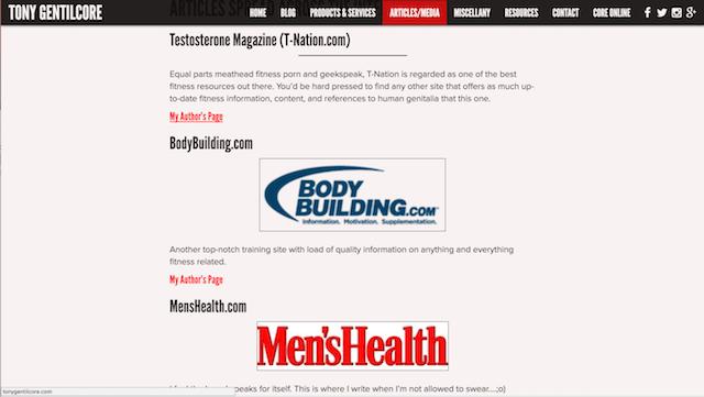 Fitness Marketing Ideas Tony Gentilcore
