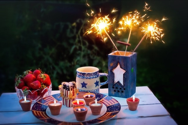 Fourth Of July Marketing Candles
