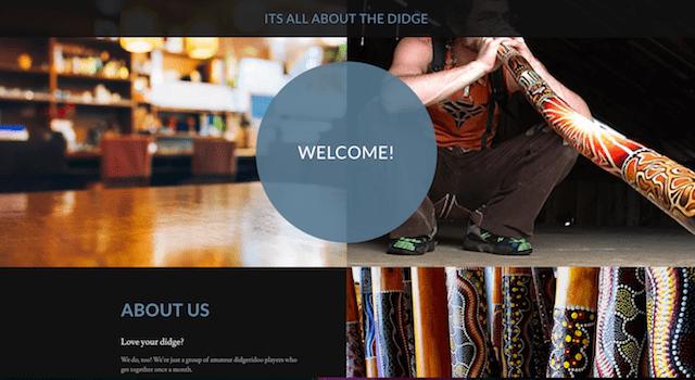 Free Domain Didge Website