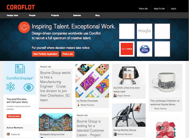 Free Online Portfolio Websites Coroflot