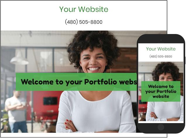 Freelance Finances GoCentral Portfolio Website