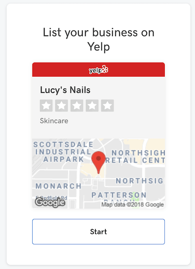 GoCentral Yelp Business Listing Lucys Nails