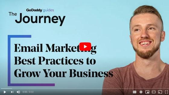 GoDaddy Email Marketing Video