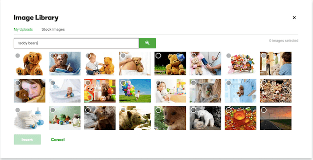 GoDaddy GoCentral Blog Feature Image Library