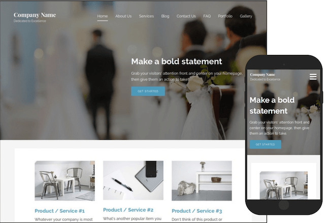 GoDaddy Managed WordPress Sample Theme