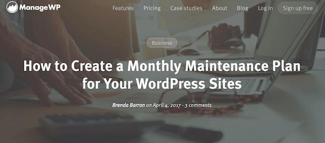 GoDaddy Pro Newsletter ManageWP
