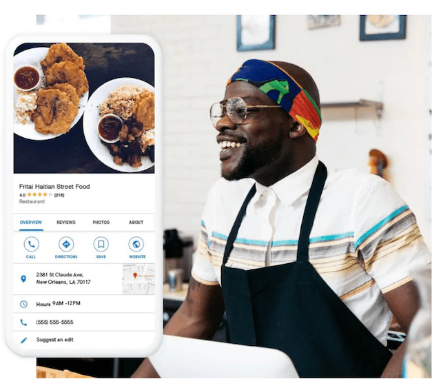 GoDaddy Websites + Marketing Mobile Site Example