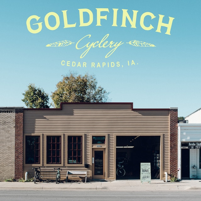 Goldfinch Cyclery Storefront