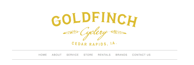 Goldfinch Cyclery Website