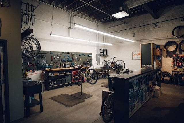 Goldfinch Cyclery Workshop