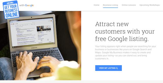 Google Customer Reviews Homepage