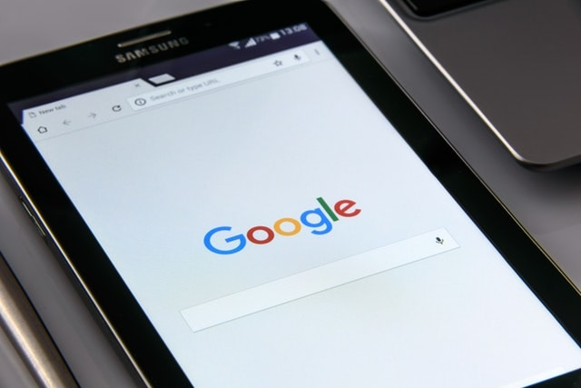 Google Marketing Tools Tablet