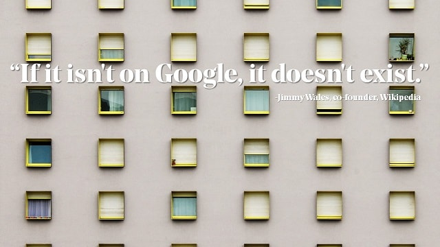 Windows Building Google Ranking Quote Jimmy Wales