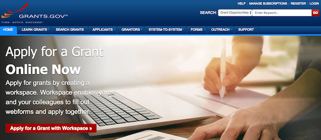 Government Grants For Small Business Website