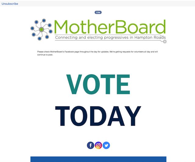 Grassroots Organization MotherBoard Newsletter