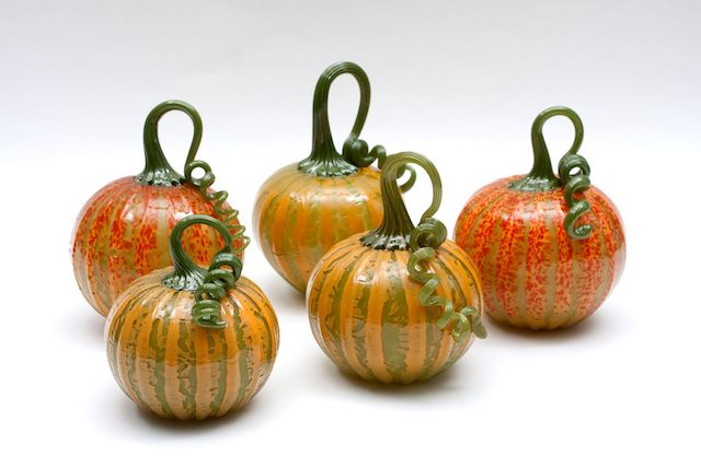 Gregory Tomb Glass Pumpkins