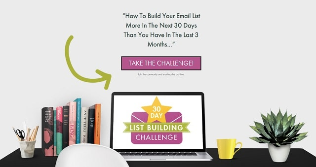Grow Your Email List Rich Babe Challenge