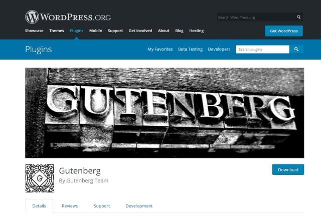 Gutenberg WordPress Editor Plugin