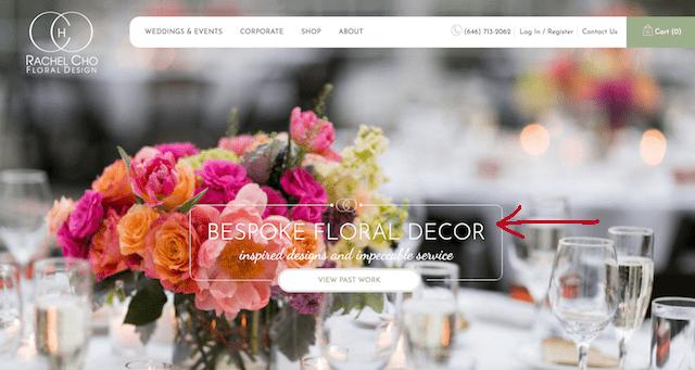 Header Tag Example Rachel Cho Floral Design