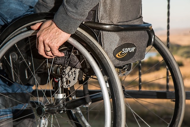Healthcare Security Wheelchair