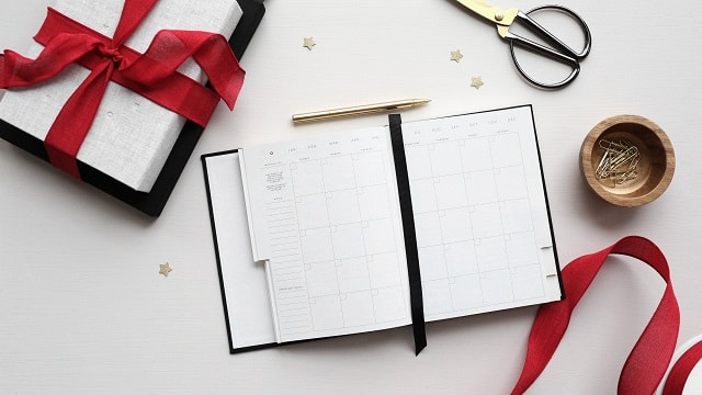 Open Calendar To Schedule Holiday Marketing Campaign Content