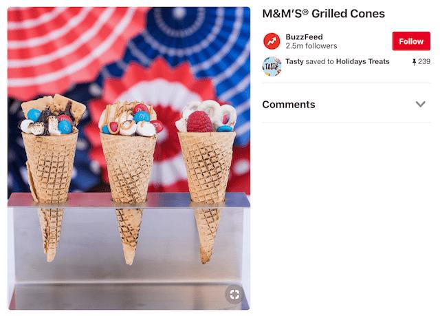 Holiday Marketing Campaigns Dessert