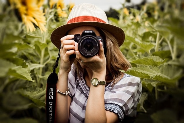 Home Business Ideas Woman Taking Picture
