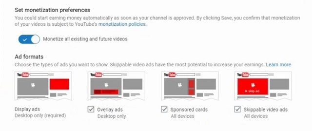 How Do You Make Money On YouTube Monetization Preferences